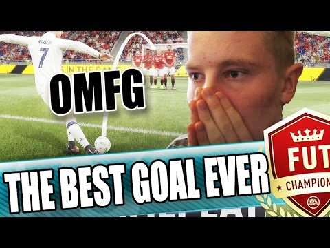 THE MOST INSANE FIFA 17 GOAL EVER!!!  BEST FUT CHAMPIONS GOAL EVER  FIFA 17 ULTIMATE TEAM