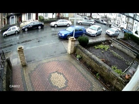 2MP HD 1080P CCTV FOOTAGE