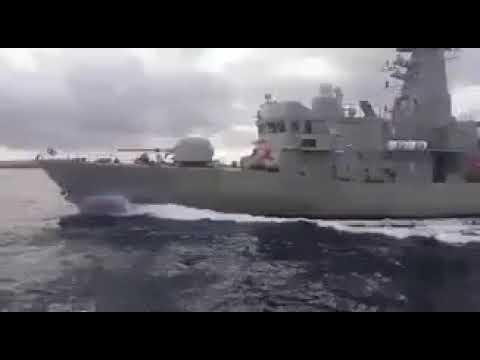 Video - Δείτε τη στιγμή της σύγκρουσης της ελληνικής κανονιοφόρου με τουρκική ακταιωρό στα Ίμια