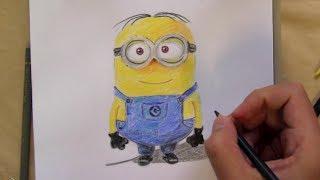 Comment dessiner videos cp fun music videos - Minion a dessiner ...