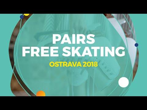 Akhanteva Kseniia / Kolesov Valerii (RUS) | Pairs Free Skating | Ostrava 2018
