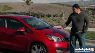 2013 Kia Rio Sedan Test Drive&Compact Car Video Review