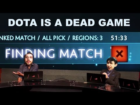 DOTA IS A DEAD GAME  SingSing Moments Dota 2 Stream