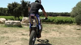Saint-Laurent-de-la-Cabre France  city images : TUTO - Apprendre à déplacer sa roue arrière en Moto Trial