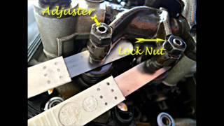 8. BMW Oilhead Valve Adjustment