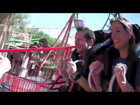 """Billy & Julie AND Vic Porcelli ride the NEW """"Fireball"""" at Six Flags"""