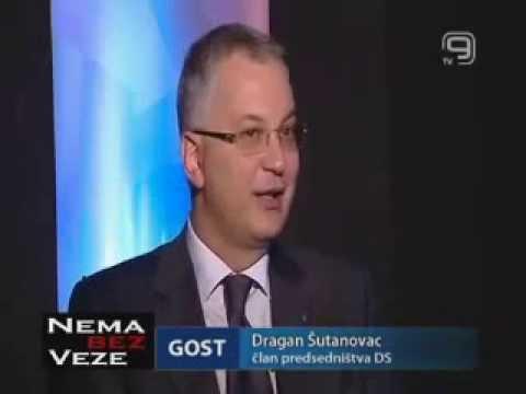 Драган Шутановац у емисији