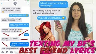 "Video TEXTING MY BOYFRIEND'S BEST FRIEND ""WILD THOUGHTS"" RIHANNA x DJ KHALED LYRICS 
