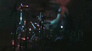 Brian TIchy, (Billy Idol, Foreigner, Ozzy, Pride & Glory, Slash) somewhere in Europe with Foreigner, December, 2007. Audio clipping due to wimpy vid cam mic and voluminous drums!