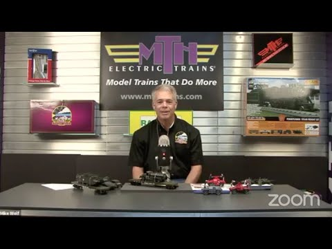MTH Trains CEO Mike Wolf On TrainWorlds Facebook Live! New Products And New Announcements!