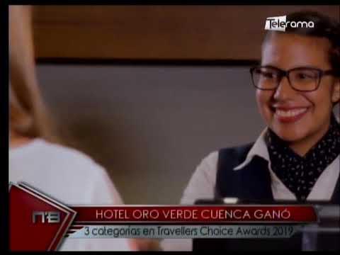 Hotel Oro Verde Cuenca ganó 3 categorías en Travellers Choice Awards 2019
