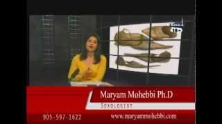 Maryam Mohebbiسایز آلت جنسی مرد و کفش او