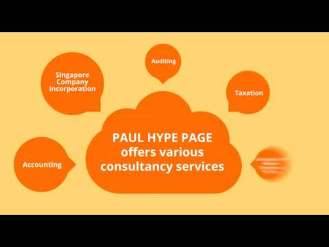 Company Incorporation & Formation Singapore - Paul Hype Page Co