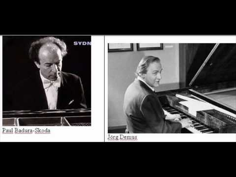 BADURA-SKODA & DEMUS PLAY SCHUBERT FANTASIE PART 3 OF 3