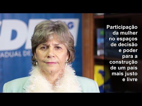 Gláucia Brandão: mulher na política por país mais justo