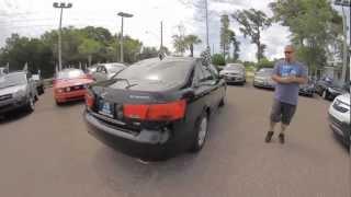 Autoline's 2009 Hyundai Sonata GLS Walk Around Review Test Drive