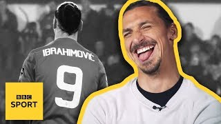 "Video ""I made the Premier League look old""- Zlatan Ibrahimovic interview 
