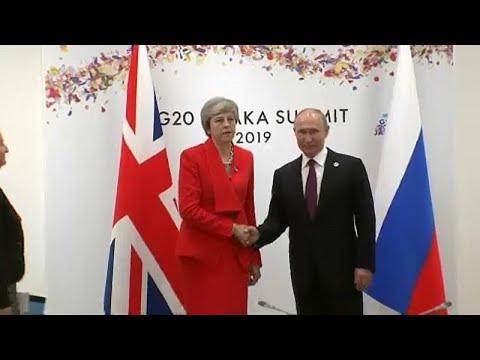 Πάγος στη συνάντηση Πούτιν-Μέι στην G20