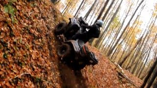 9. Kawasaki Brute Force 750 vs Yamaha Grizzly 700 drapki atv ride