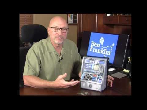 Ben Franklin Talking ATM Bank