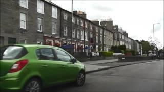 Driving in Edinburgh Streets.