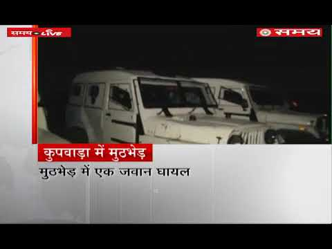2 top terrorists killed and 1 Jawan injured in an encounter with security forces in J&K