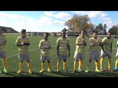 Video Highlights: Men's Soccer vs. NIACC (10/24/2015) W, 2-0