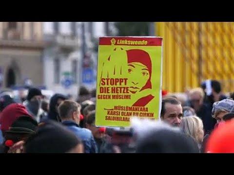 Διαδήλωση στη Βιέννη για την απαγόρευση της μπούρκας