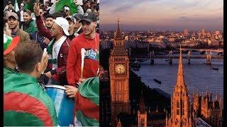 الجالية الجزائرية في لندن تحيي مرور شهرين على حراك الكرامة والحريات