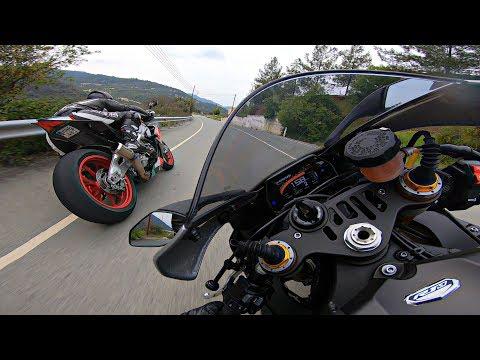 Yamaha R1 M Following Aprilia Rsv4 RF - Thời lượng: 6:18.