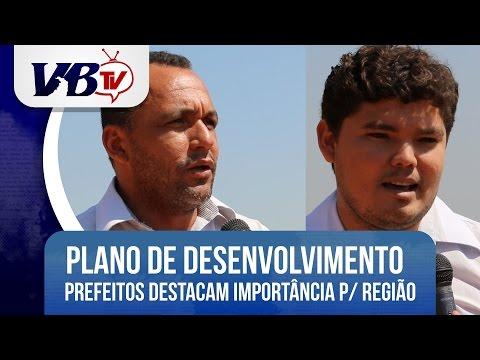 VBTv| Pres. da Ambip e Pref. de Praia Norte destacam importância do Plano de Desenvolvimento