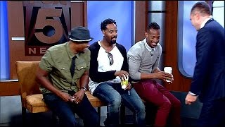 Wayans play pictionary