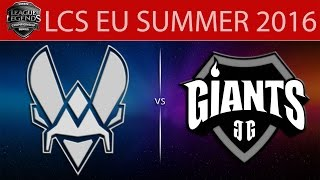 Vitality vs Giants, game 2