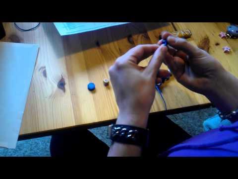Anleitung fädeln einer Nuggikette