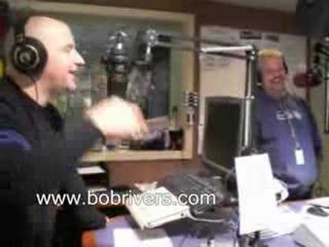 Comedian Auggie Smith in The Bob Rivers Show