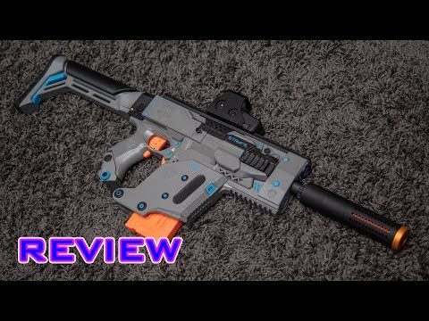 [MOD] Nerf Stryfe Modification | KRISS Vector Cosmetic Kit