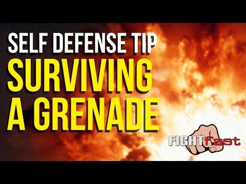 Survive an Improvised Explosive Device/Hand Grenade - Self Defense