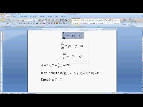 System of differential equation MATLAB using ode23   MTech syllabus