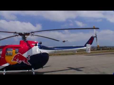 видео: Радиоуправляемый вертолет Blade Red Bull BO-105 CB 130 X