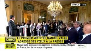 Video Une journaliste fait un malaise pendant les voeux de Manuel Valls à la presse 20 janvier 1014 MP3, 3GP, MP4, WEBM, AVI, FLV Juni 2017