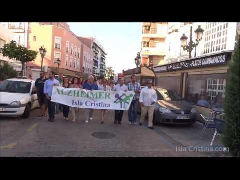 V Marcha del Alzheimer Celebrada en Isla Cristina