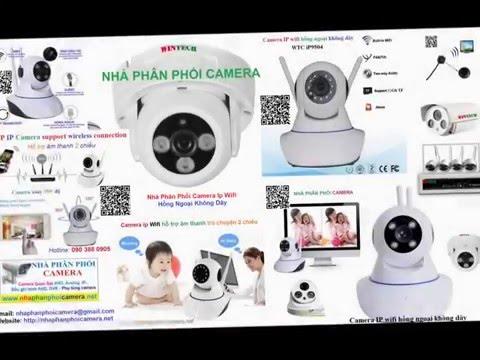 Nhà Phân Phối Camera ip wifi WinTech