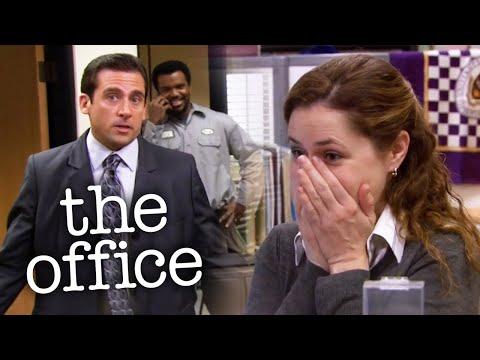 Michael Wears a Woman's Suit - The Office US