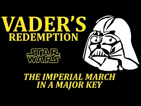 Vader s Redemption The Imperial March in a Major Key Star
