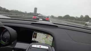 Ostre zapie*dalanie 350 km/h po autostradzie! Czyli Porsche w pościgu za Koenigsegg Agera!