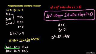 Naloga 7 – kvadratna enačba z dvema neznankama