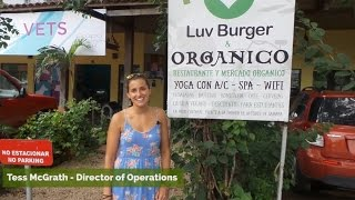 Samara Costa Rica  city photo : Luvburger Vegan Restaurant in Playa Samara, Costa Rica
