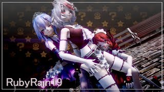 Download Lagu 【MMD x FNAFSL】♬ Koshitantan ♬ ► Babby FT Foxy Ballora◄ Mp3