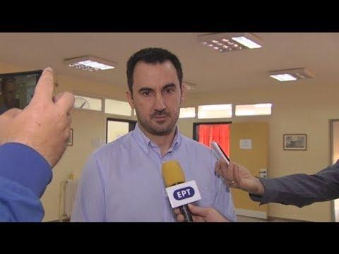 Δήλωση του Υπουργού Εσωτερικών, Αλέξη Χαρίτση, κατά την άσκηση του εκλογικού δικαιώματος