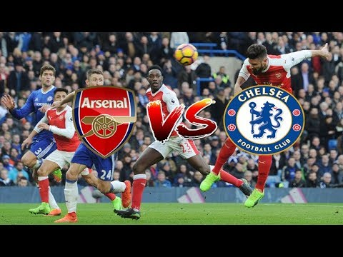 ● Arsenal vs Chelsea 2-1 All Goals & Highlights - Carabao Cup 24/01/2018